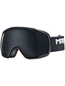 Hombre Gafas de nieve Marcador 16: 9 + (polarizadas) Black, color Negro