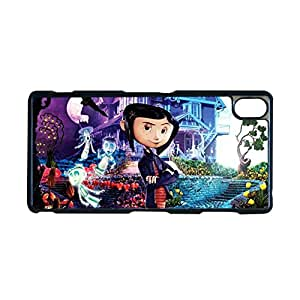 Generic Hard Back Phone Case For Man Design With Coraline For Z3 Xperia Sony Choose Design 4