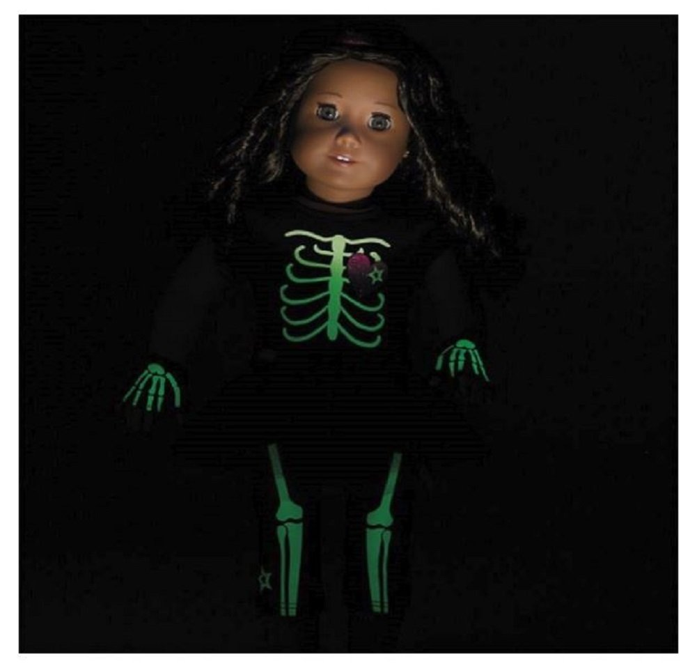American Girl Truly Me Skeleton Outfit for 18 Dolls Doll Not Included