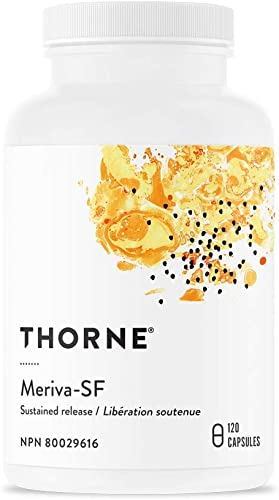Thorne Research – Meriva-SR – Contains Soy – Curcumin Phytosome Supplement – 120 Capsules Old Formula