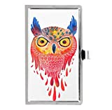 Animal Owl Watercolor Custom Rectangle Business