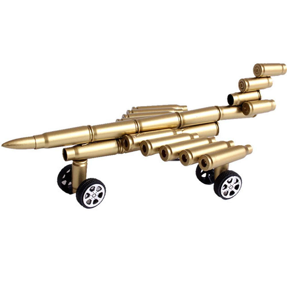 Jollymap Creative Alloy Airplane Model Metal Bullet Shell Crafts Ornaments Jewelry
