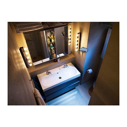 - IKEA MUSIK - Wall Lamp, Chrome-plated: Amazon.co.uk: Kitchen & Home