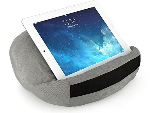wBest GREY Round Shape Tablet, iPad Reading Rest Pillow for e-reader, iPad Mini, iPad Air, iPad Air 2, iPad Pro 9.7