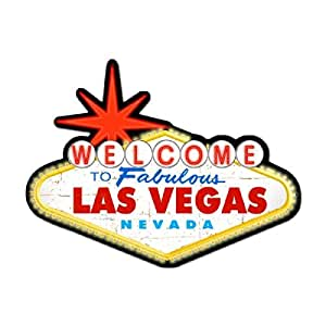 Welcome to las vegas metal sign wall decor 28 for Al ahram aluminium decoration