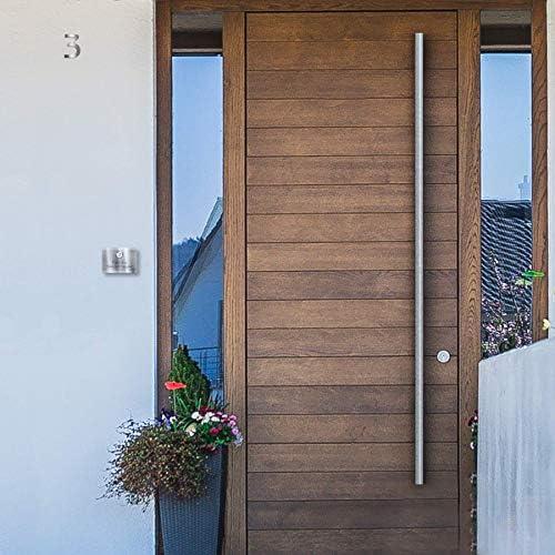 Número de casa de calidad superior de acero inoxidable V2A, grueso y pulido de Bauhaus incluyeFijación: Amazon.es: Bricolaje y herramientas