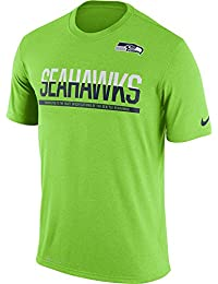 Seattle Seahawks Men's 3X-Large 3XL Performance Shirt - Lime Green