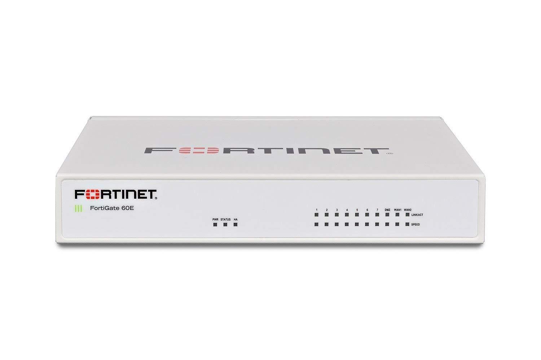 Fortinet FortiGate-60E / FG-60E Next Generation (NGFW) Firewall Appliance,  10 x GE RJ45 Ports