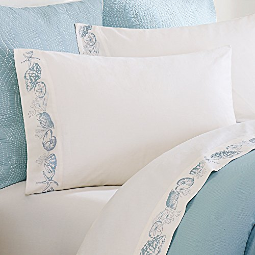 Harbor House Coastline 250-Thread-Count Sateen Full Sheet (Alexander Sheet Set)