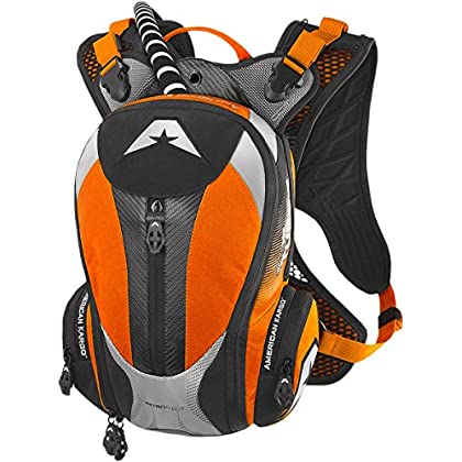 Image of American Kargo 3519-0011 Orange Turbo 2.0 Hydration Pack Casual Daypacks
