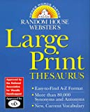 Websters Thesaurus, Random House, 0375702113