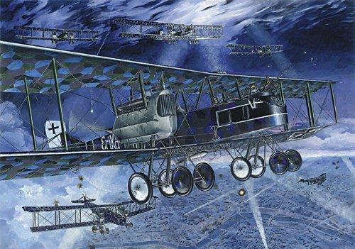 Heavy Bomber Kit - Roden Gotha G.V Night Raider German Heavy Bomber Airplane Model Kit