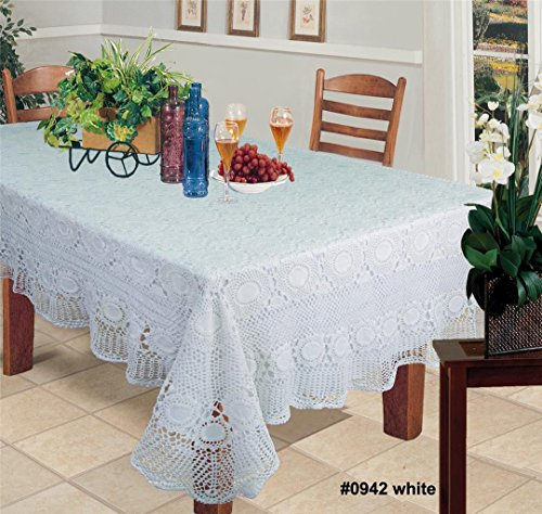 Crocheted Tablecloth - 8