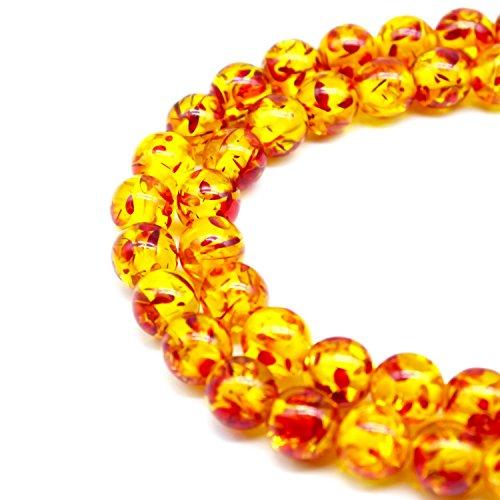 Resin Round Beads - 4