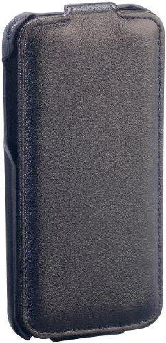 Xcase iPhone 5c Tasche: Stilvolle Klapp-Schutztasche für iPhone 5c, schwarz (Schutzhüllen für iPhones 5c)