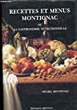 recettes et menus montignac ou la gastronomie nutritionnelle