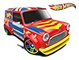 hot wheels mini van - Hot Wheels, 2015 HW City, 67 Austin Mini Van [Metallic Red with British Flag on Roof] Die-Cast Vehicle #27/250 by Hot Wheels