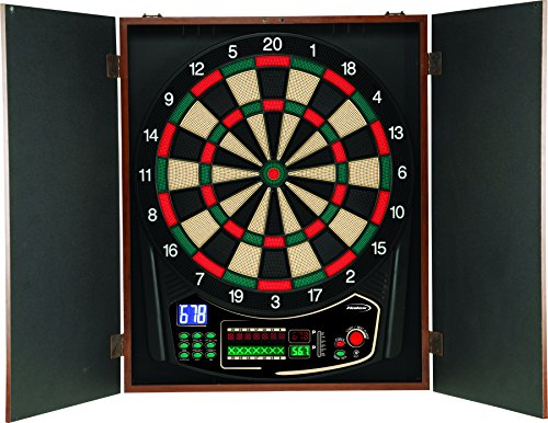 ic Dartboard With Wooden Cabinet (Halex Soft Tip)