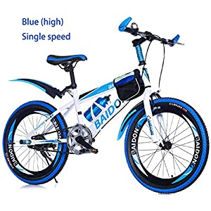 Unisex Wheel 1 Speed Mountain Kids Bike Children Bicycles