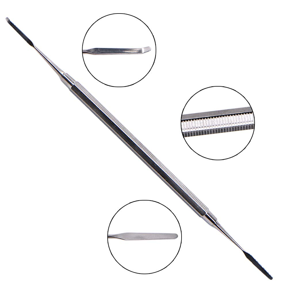 5 Pcs Dental Resin trimmer Stainless steel Photosensitive knife Double Ended Spatula Lab Instrument Dentist Tools by Angzhili