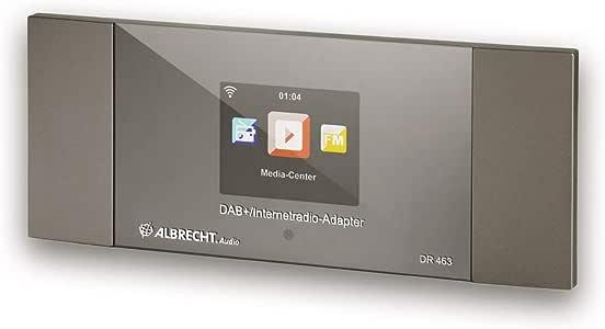 Albrecht DR463 - Adaptador para Radio por Internet y Dab+ para reequipar radios y Equipos estéreo, recibe música a través de Bluetooth®, WLAN, Dab+: Amazon.es: Electrónica