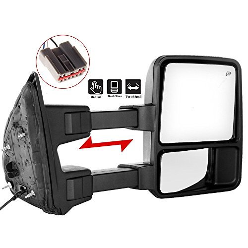 SCITOO Ford Towing Mirror Passenger Side Rear View for sale  Delivered anywhere in Canada