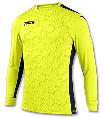 Joma - Camiseta Portero Derby II Amarillo flúor m/l para Hombre ...