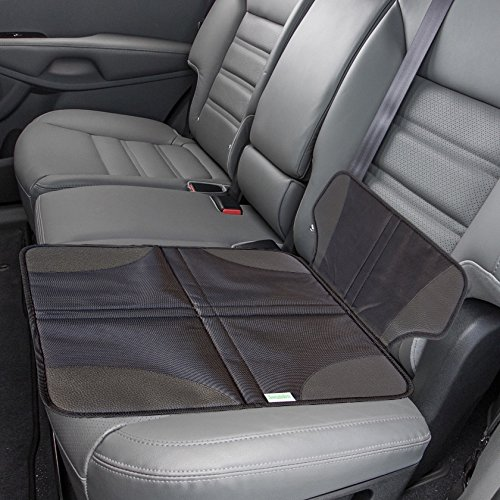 leather booster car seat - 7