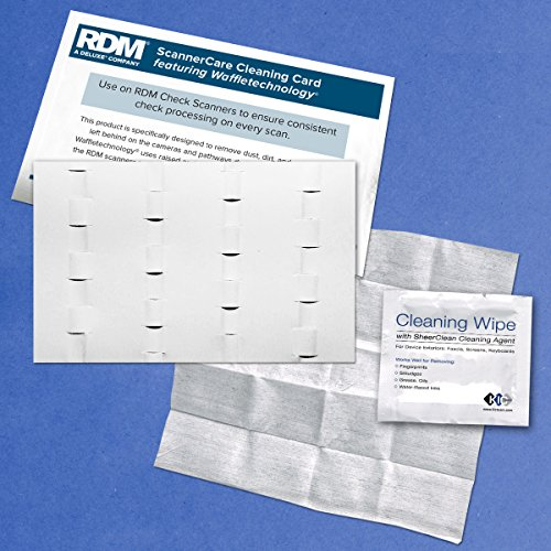 RDM ScannerCare Cleaning Kit (12 Cards & 12 Device Wipes by Waffletechnology
