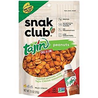 Snak Club Tajin Clasico Peanuts, 7.5-oz, 6-Pack
