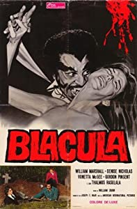 Blacula POSTER Movie (27 x 40 Inches - 69cm x 102cm) (1972) (Italian Style A)