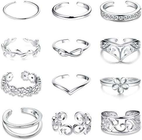 Jstyle 8 12Pcs Adjustable Various Jewelry product image