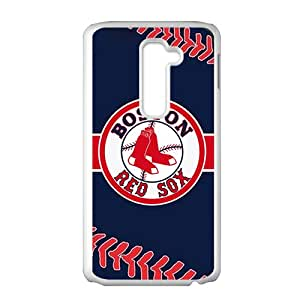 Boston Red Sox White LG G2 case