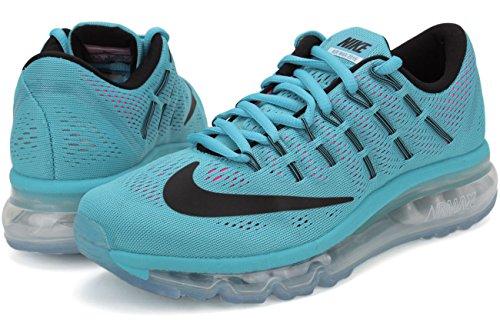 Blast Gris 10 Wmns Max Pnk Azul Blue de 2016 EU Black Running para Mujer Wht Zapatillas Oscuro Air Nike Gamma wUCqPEzpp