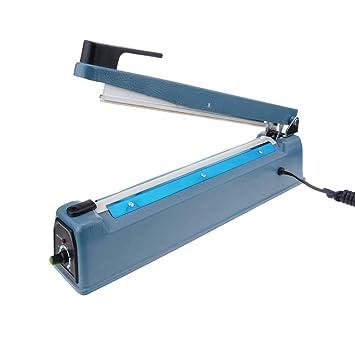 PrimeMatik - Selladora térmica metálica de 30cm para Bolsas de plástico