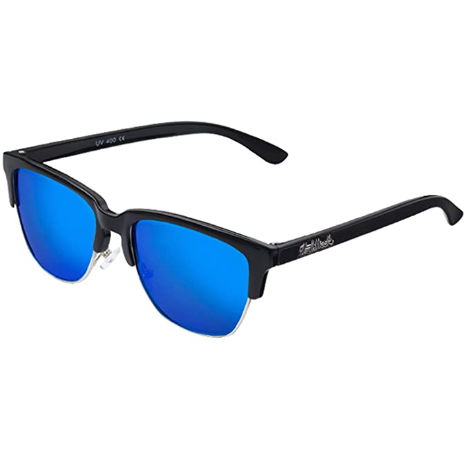 Gafas de sol Sunglasses Northweek Old School matte black | lente azul polarizada | unisex: Amazon.es: Ropa y accesorios