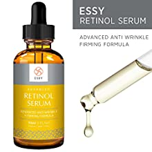 Product Description:  Essy Beauty Retinol Serum is the superhero of anti-aging. This remarkable formula is loaded with highly effective and natural ingredients that fight against wrinkles, soften fine lines, heal and protect skin, eliminate d...