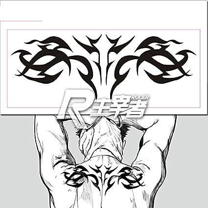 Anime Gangsta worick Cosplay cuerpo Art pegatinas extraíble ...