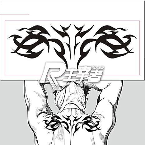 Anime Gangsta worick Cosplay cuerpo Art pegatinas extraíble impermeable tatuajes temporales 2pc: Amazon.es: Instrumentos musicales