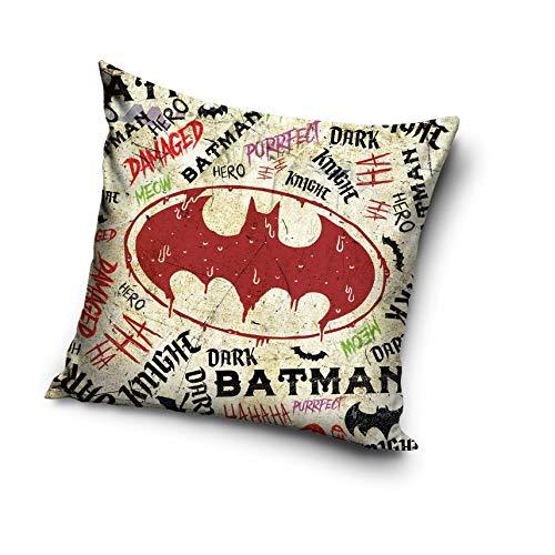 Batman Funda de cojín de Microfibra, 40 x 40 cm, BAT183002 ...