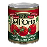 Bell'Orto Crushed Tomatoes in Puree, 2.84L Can, 6 Count