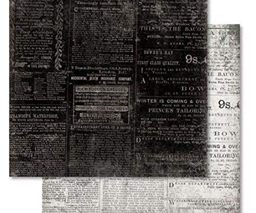 dise/ño vintage de Ursus /álbum de recortes Papel para recortes de doble cara 30 x 30 hojas impresi/ón