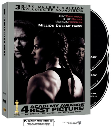 Amazon Com Million Dollar Baby Three Disc Collector S Edition Hilary Swank Clint Eastwood Morgan Freeman Jay Baruchel Mike Colter Lucia Rijker Brian F O Byrne Anthony Mackie Margo Martindale Riki Lindhome Michael Pena Benito Martinez