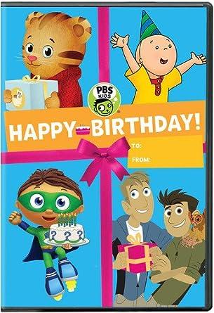 Amazon Com Pbs Kids Happy Birthday Dvd N A Movies Tv
