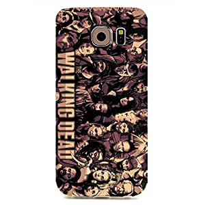 The Phone Case Cover For Samsung Galaxy S6 edge,Phone Case Cover For Samsung Galaxy S6 edge,The Walking Dead Phone Case