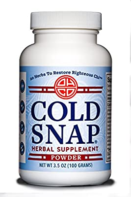 OHCO Cold Snap 100g Powder - Ease Cold and Flu Symptoms - Herbal Medicine - High-Quality Chinese Medicine Remedies