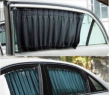 Tende Parasole Avvolgibili Per Auto.Set Di Tende Proteggi Sole Per Auto Furgone Avvolgibili Amazon It