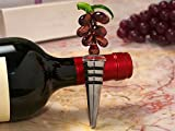 Murano art deco collection grapes design wine stopper