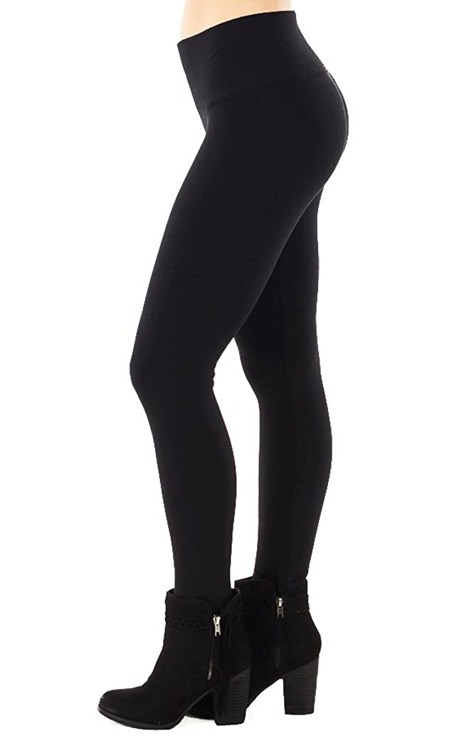 Size 8-16 Fast Color 2 X Soft Cable Knit Leggings One Size Black One Size Clothing, Shoes & Accessories
