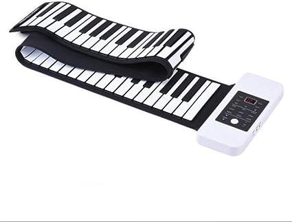 YIHANGG Mano Rollo Piano 88 Teclas Portátil Profesional ...